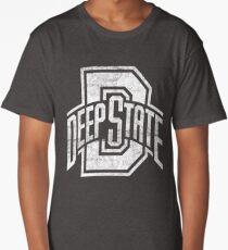 Deep State (White) Long T-Shirt