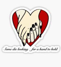Looking Hands Sticker