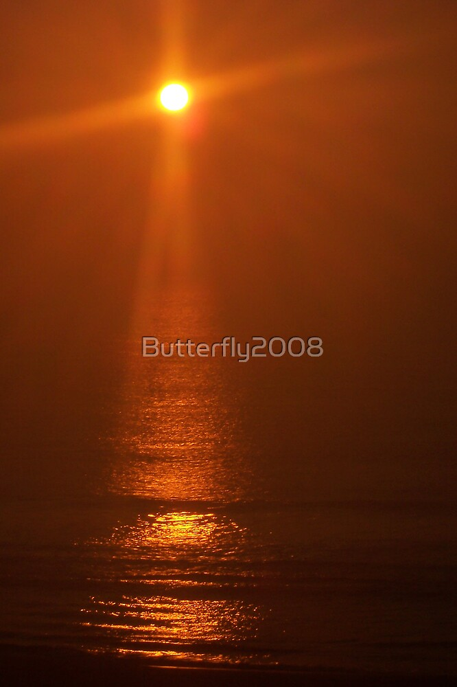 A Cross Sunrise by Butterfly2008