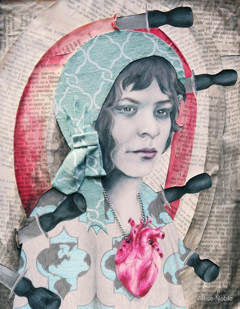 September - She Is An Atlas by Allise Noble