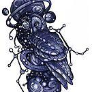 Celestial Owl by JDArtist