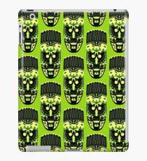 Mascara Africana Verde iPad Case/Skin