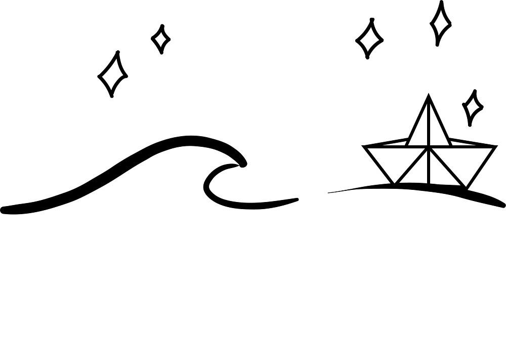 wave n boat by EloiseBL