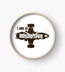 firefly i aim to misbehave Clock