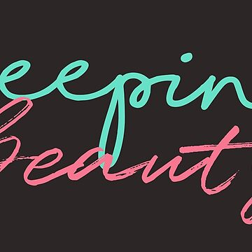 Sleeping Beauty Typography by dhysaseverely