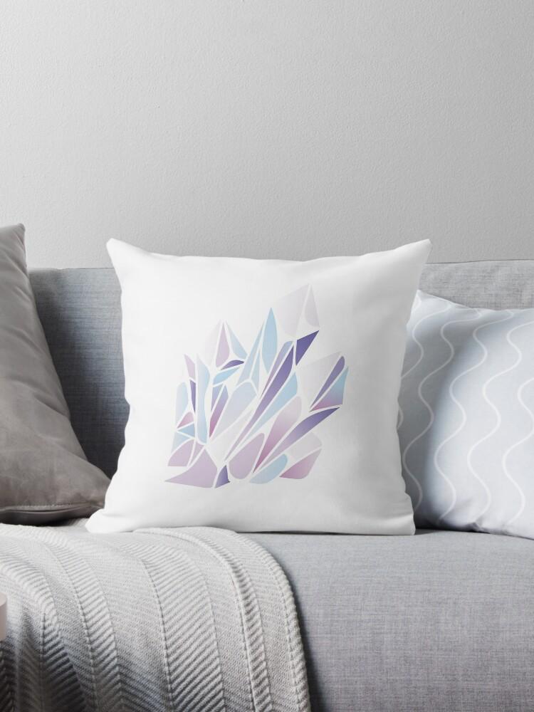 Pink, Lila und Blau Kristall von BountifulBean
