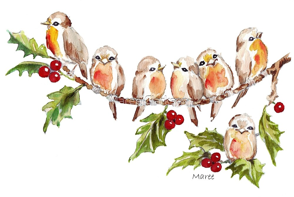 Seven Little Birds by Maree Clarkson