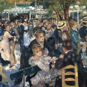 Pierre-August Renoir - Bal du moulin de la Galette by mosfunky