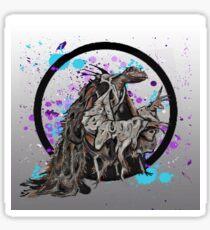 The Dark Crystal Skeksis Sticker