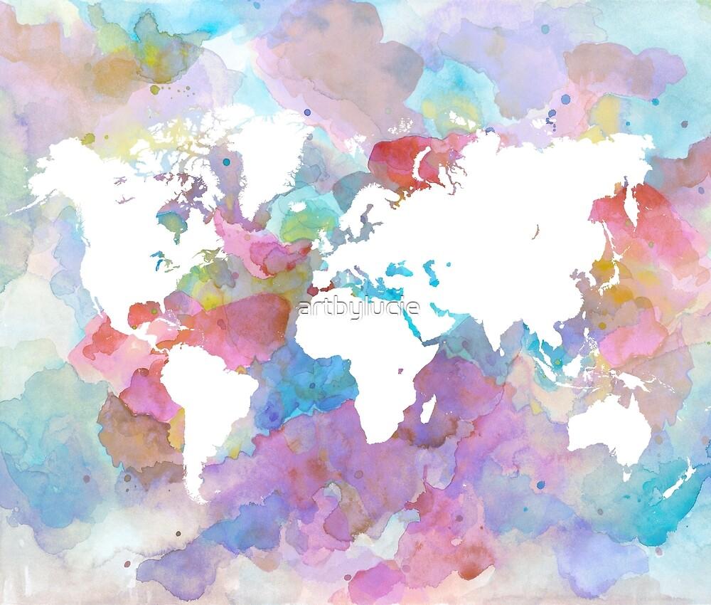 Design 48 world map by artbylucie
