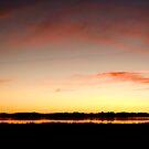 Leschenault Sunset Panorama by palmerphoto