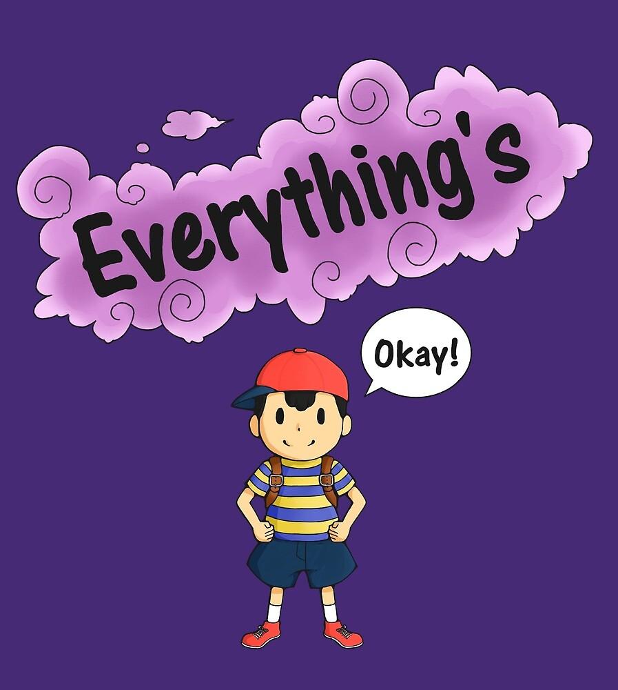 Everything's Okay! by steamymaple