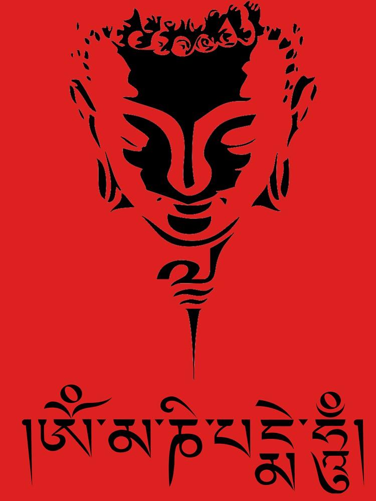Buddha Mantra by BorbaBacco