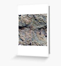 Rocks Stone Texture Design Greeting Card