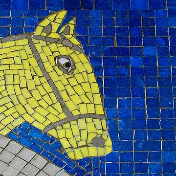 Tiled Horse  by ethna
