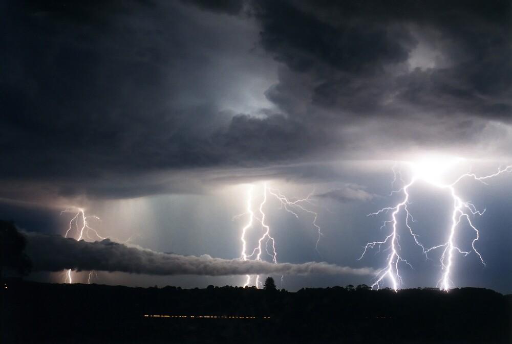 Lightning Fest at Alstonville by Michael Bath