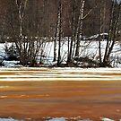 Frozen lake by Juha Sompinmäki