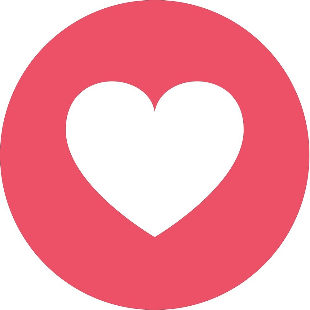 Facebook love heart by tomgscott redbubble facebook love heart biocorpaavc Choice Image