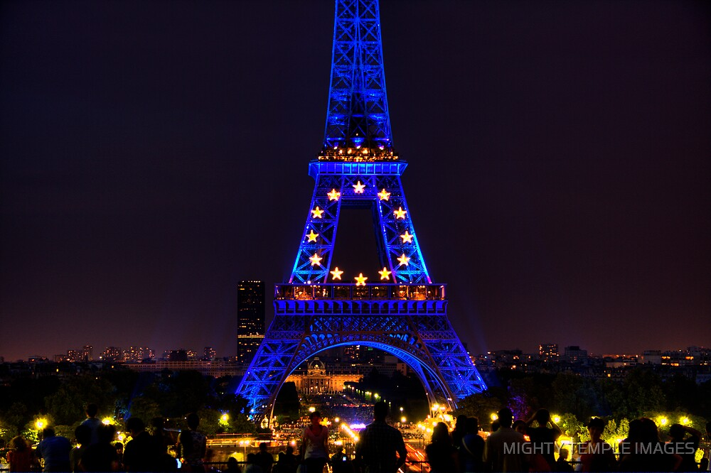Iconic Paris 2  by MIGHTY TEMPLE IMAGES