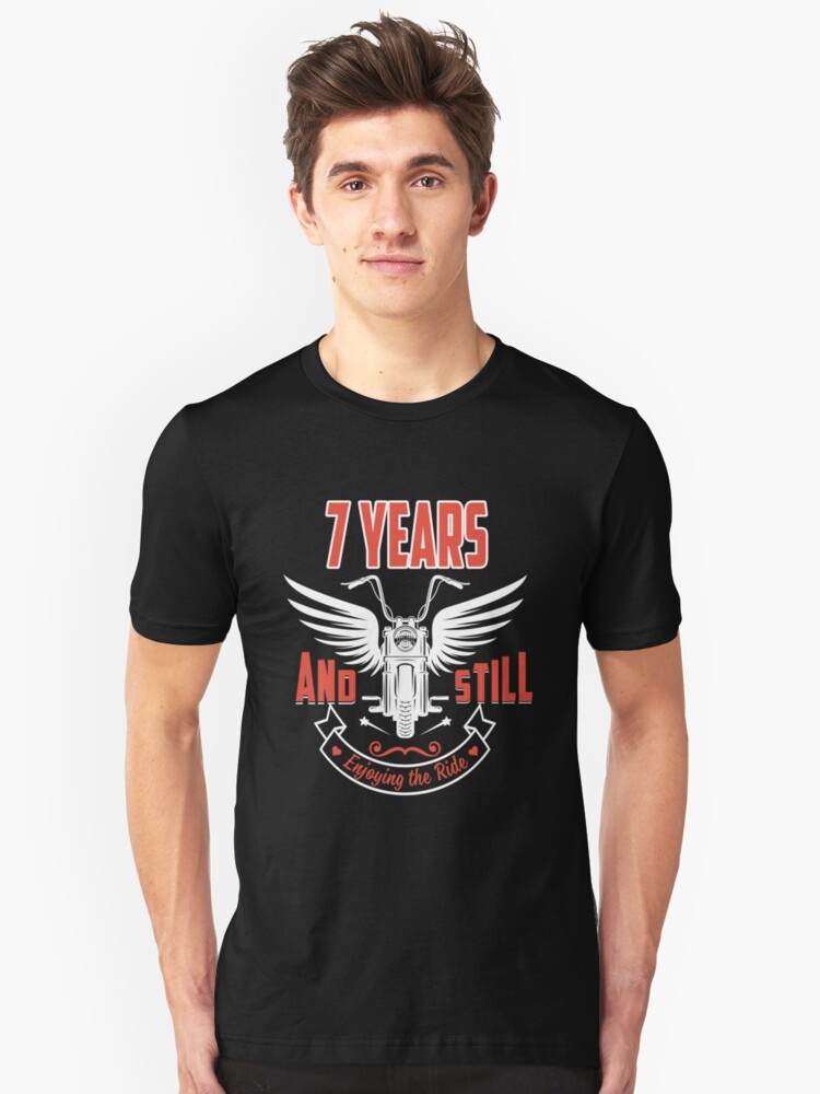 Best T-shirt For 7th Wedding Anniversary, Fashion Anniversary Gifts For Couple Unisex T-Shirt Front