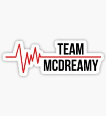 Team McDreamy Sticker