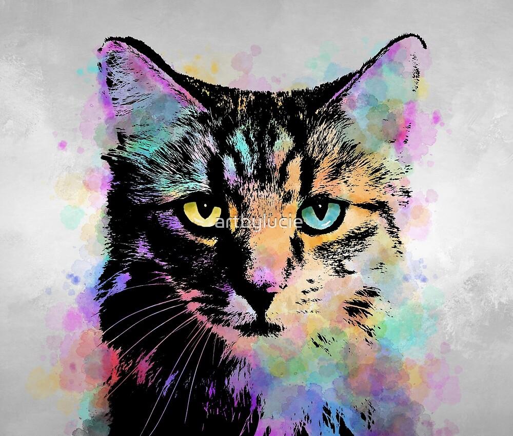Cat 618 by artbylucie