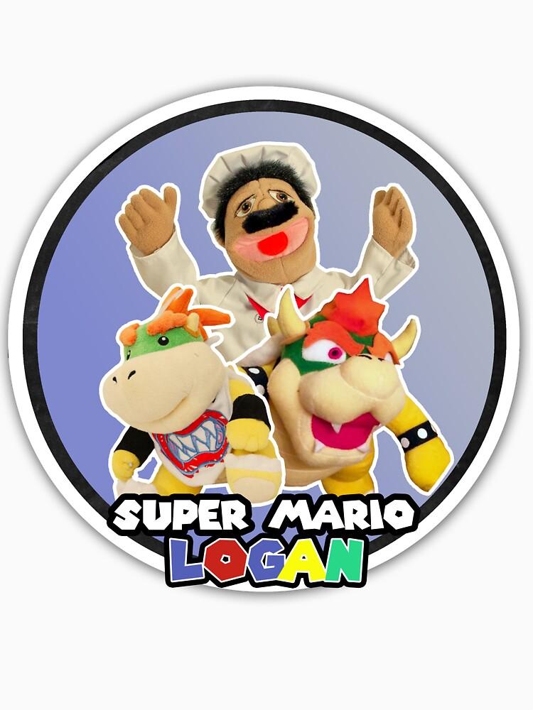 Chef Pepe, Bowser, and Bowser Jr - Super Mario Logan by Logambz