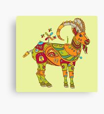 Ibex, from the AlphaPod collection Canvas Print