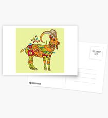 Ibex, from the AlphaPod collection Postcards