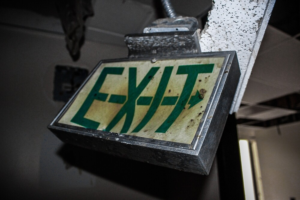 EXIT by Kaitlin Kidd