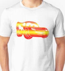 Gradient Lightning McQueen Unisex T-Shirt