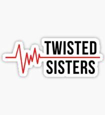 Twisted Sisters - Cristina Yang & Meredith Grey Sticker