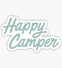Happy Camper Sticker