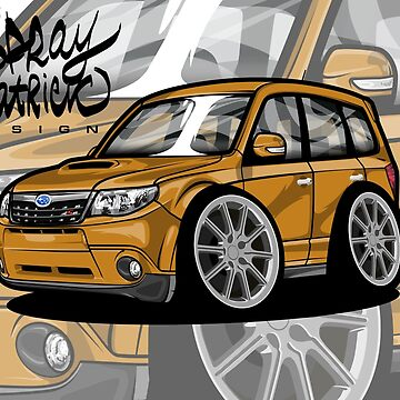 Subaru Forester Ts Edition by SprayPatrick