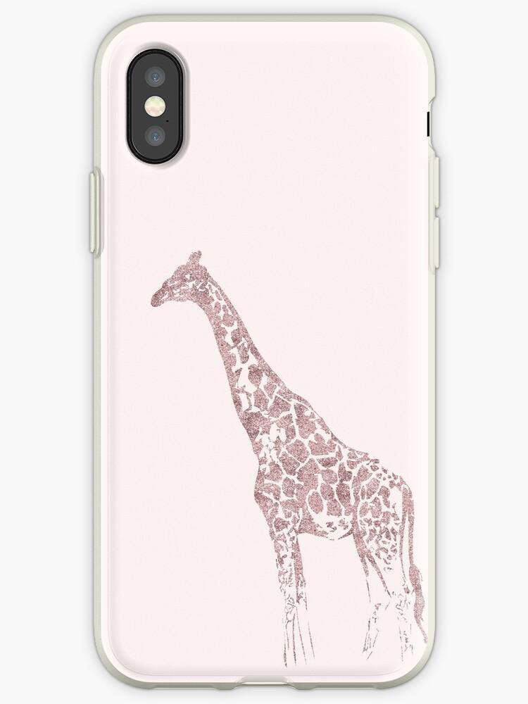 Rose Gold Giraffe by PineLemon