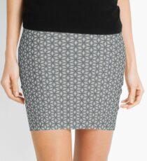 Geometric Flower Pattern 1 Mini Skirt