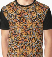 Monarch Butterflies | Butterfly Pattern Graphic T-Shirt