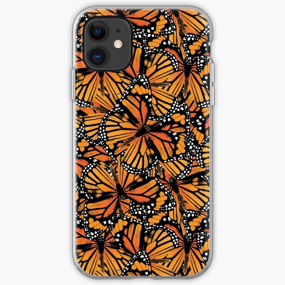 Monarch Butterflies | Vintage Butterflies | Butterfly Patterns |  iPhone Soft Case