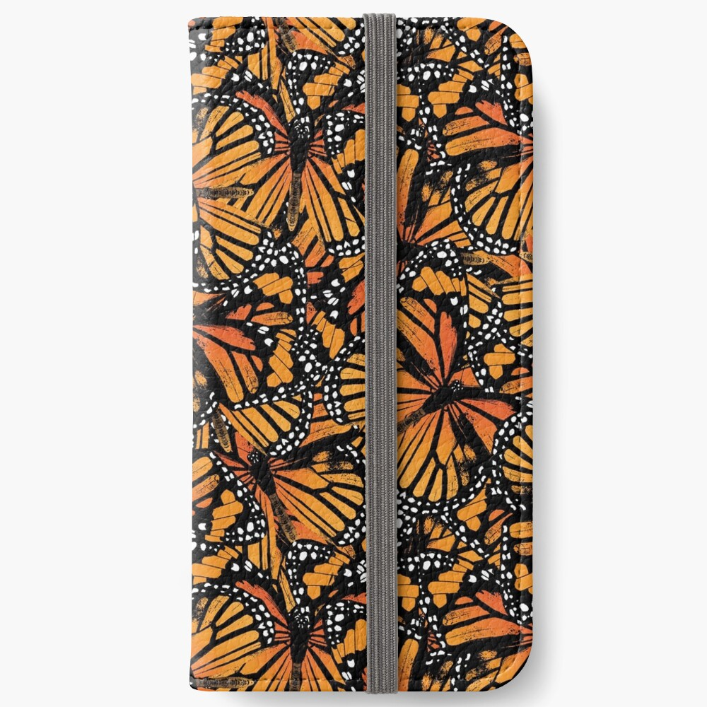 Monarch Butterflies | Vintage Butterflies | Butterfly Patterns |  iPhone Wallet