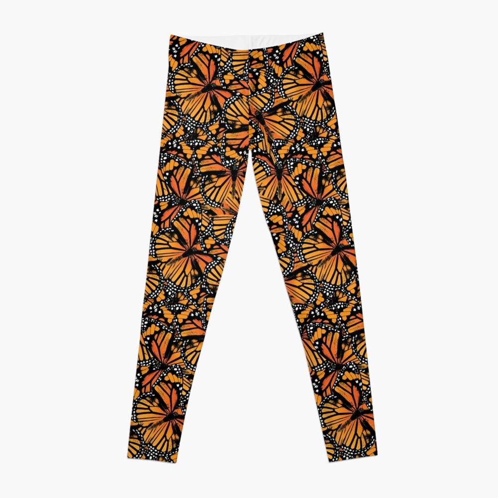 Monarch Butterflies | Vintage Butterflies | Butterfly Patterns |  Leggings