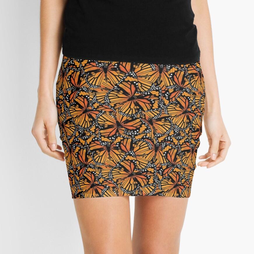 Monarch Butterflies | Vintage Butterflies | Butterfly Patterns |  Mini Skirt