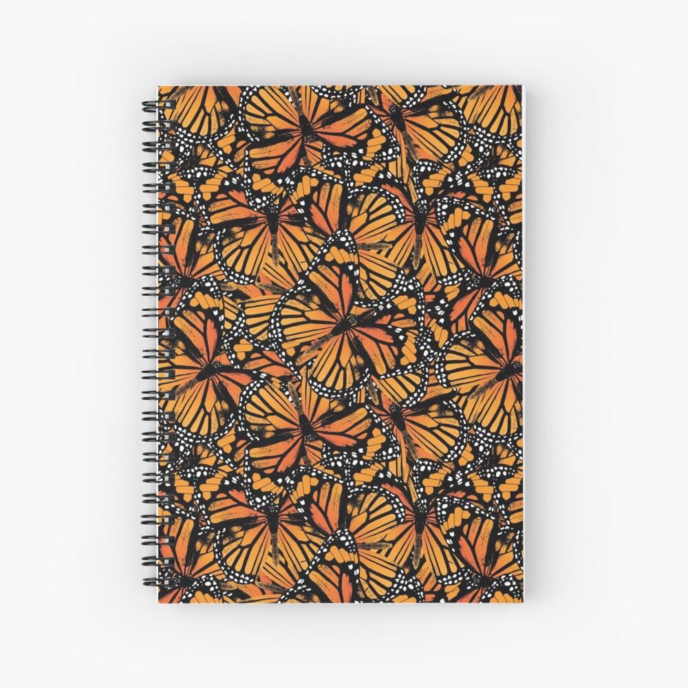 Monarch Butterflies | Vintage Butterflies | Butterfly Patterns |  Spiral Notebook