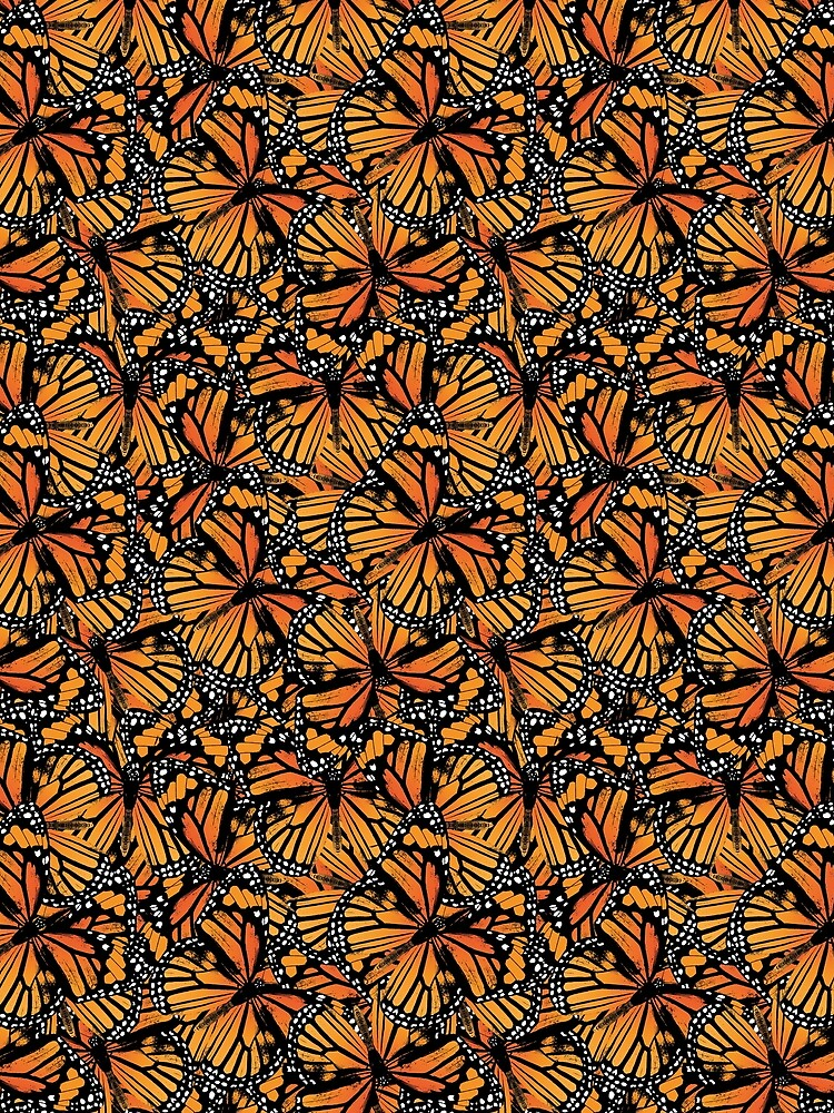 Monarchfalter   Vintage Schmetterlinge   Schmetterlingsmuster   von EclecticAtHeART