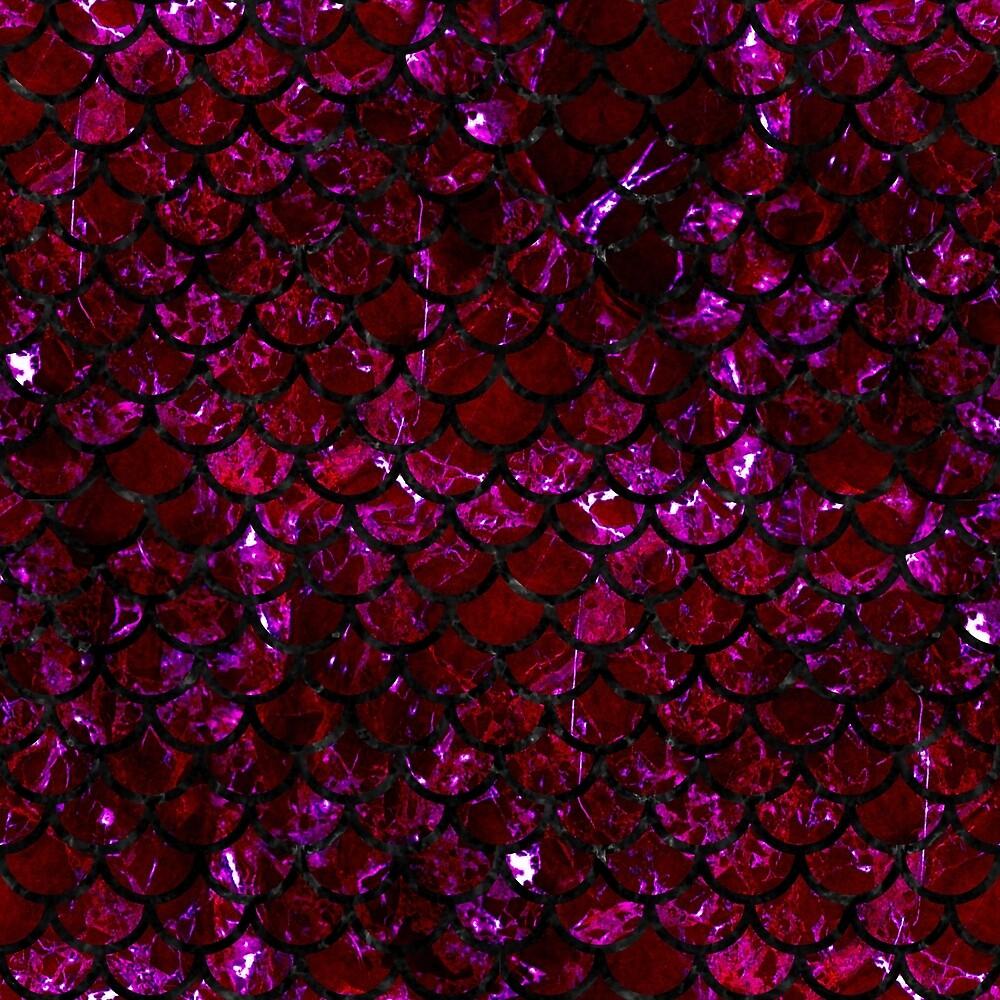 SCALES1 BLACK MARBLE & BURGUNDY MARBLE (R) by johnhunternance