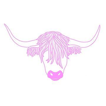 Pink Cow by Naivuren