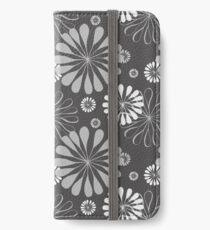 Mod Floral Print iPhone Wallet/Case/Skin