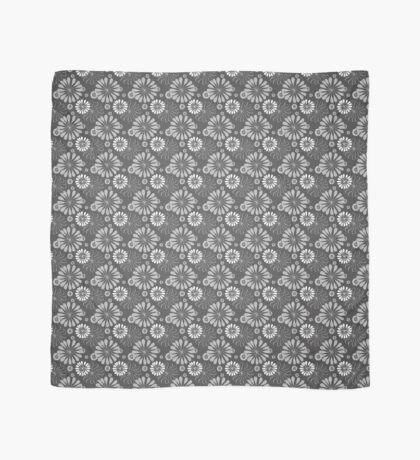 Mod Floral Print Scarf