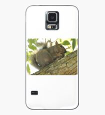 Squirrel in Ash Tree with Walnut Case/Skin for Samsung Galaxy