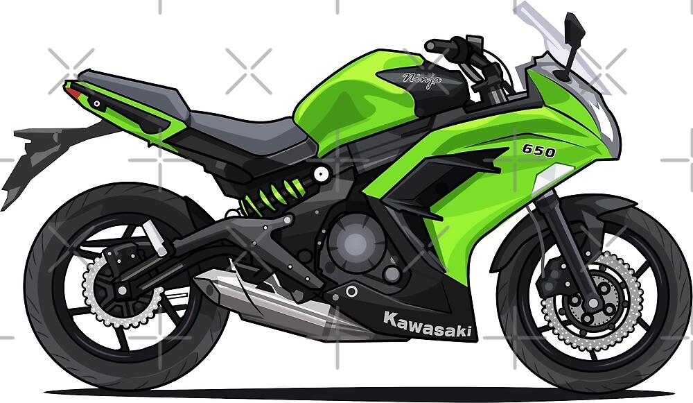 Kawasaki Ninja 650 Motorcycle by xEver