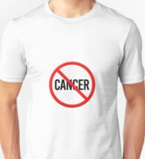 No Cancer Prohibition sign T-Shirt